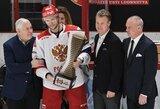 Rusijos ledo ritulio rinktinės pergalių seriją nutraukė čekai