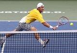 ATP vienetų reitinge R.Berankis ir L.Grigelis smuko žemyn, N.Djokovičius rekordų knygoje aplenkė J.McEnroe'ą