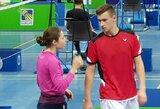 V.Fomkinaitė ir M.Šamesas Slovėnijoje nepateko į pusfinalį