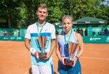 Sensacija Lietuvos teniso čempionato finale: 17-metė K.Bubelytė nugalėjo favoritę