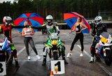 Lietuvos motožiedo čempionato 4-ajame etape Rygoje lietuviai konkuravo su latviais ir estais, varžybas trikdė lietus