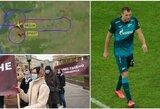 A.Dziubą išmetę rusai nenugalėjo moldavų, šalies pilotai originaliai išreiškė palaikymą futbolininkui