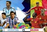 Pasaulio čempionato ketvirtfinalis: Argentina – Belgija