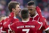 """Vokietijos taurė: """"Bayern"""" smaginosi su trečios lygos komanda, """"Bayer"""" vargo su """"Werder"""""""