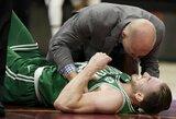 NBA žaidėjus šokiravo G.Haywardo trauma