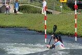 Lietuviams nepavyko patekti į pasaulio jaunių ir jaunimo baidarių ir kanojų slalomo čempionato pusfinalius