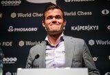 Kas taps M.Carlseno varžovu? Prasidėjo vienas svarbiausių metų šachmatų turnyrų (papildyta)