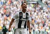 """C.Ronaldo įvartis lėmė """"Juventus"""" triumfą Italijos Supertaurėje"""