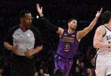 """J.Hartą nuvylė """"Lakers"""" apatiškumas"""