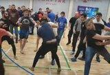 Masinių muštynių fiesta: Turkijoje pliekėsi imtynininkai, Rusijoje – džiu-džitsu kovotojai