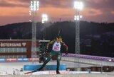 Pasaulio biatlono taurės etapo sprinte G.Leščinskaitė pranoko N.Kočerginą
