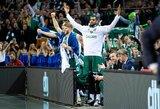 """Eurolygos verdiktas: """"Žalgiris"""" – geriausia iš dėl atkrintamųjų kovojančių komandų"""