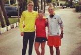 Lietuvos lengvosios atletikos elitas stovyklauja Portugalijoje