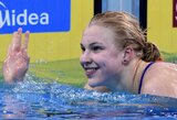 J.Ruddas ir R.Meilutytė net ir septintą ryto džiaugiasi atliekamais dopingo testais