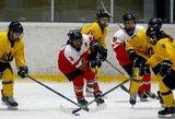 Lietuvos ledo ritulininkės neatsilaikė prieš favorites, bet teoriškai dar gali kovoti net dėl aukso
