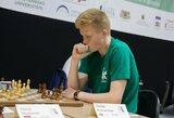 17-metis lietuvis baigė kovas šachmatų pasaulio taurėje
