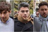 Trys Ispanijos futbolininkai už nepilnametės išžaginimą 38 metus sėdės kalėjime