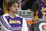 "I.Shumpertas ir T.Chandleris sudomino ""Lakers"" klubą"