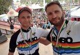 Lietuvos dviratininkams – pasaulio čempionato auksas!