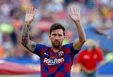 """L.Messi išpažintis: """"Prieš penkerius metus vos nepalikau """"Barcelonos"""""""