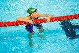 Anykščiuose – rekordinis K.Teterevkovos plaukimas