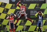 """J.Lorenzo laimėjo antras """"MotoGP"""" lenktynes iš eilės, M.Kallio nugabentas į medicinos centrą"""