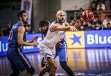 Graikai sutriuškino Izraelio krepšininkus