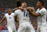 Pasaulis turės naujus futbolo karalius: fiasko patyrę ispanai keliauja namo, Čilė ir Olandija – aštuntfinalyje