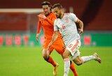 Draugiškos rungtynės: Olandijos ir Ispanijos rinktinės išsiskyrė taikiai