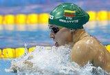 Pamatykite: pirmasis R.Meilutytės startas varžybose po Rio de Žaneiro olimpinių žaidynių