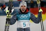 Intriga olimpinėje medalių įskaitoje auga – norvegai išbarstė beveik visą turėtą persvarą