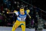 Galingai Europos biatlono čempionato sprintą pradėjęs K.Dombrovskis finišavo 22-as