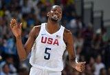 """K.Durantas: """"Ši olimpiada – lyg terapija po sunkaus gyvenimo sprendimo"""""""