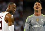 Kiek iš tikrųjų turėtų uždirbti L.Jamesas? Pasižiūrėkite į C.Ronaldo