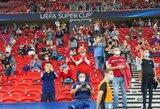 UEFA patvirtino: vadovaudamiesi vietiniais įstatymais, klubai galės įsileisti sirgalius į stadionus