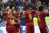 Per vėlai atsibudę prancūzai nusileido belgams