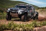 Baudos pakeitė lietuvių pozicijas antrajame Dakaro ralio etape