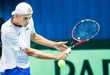 Du pralaimėjimus per dieną patyręs L.Mugevičius pasitraukė iš turnyro Turkijoje