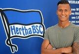 """Oficialu: """"Hertha"""" klubas įsigijo Vokietijos vicečempionų puolėją"""