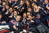 JAV eilinį kartą šventė pasaulio jaunimo elito divizione, o baltarusai išmetė latvius