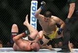Liūdna istorija su laiminga pabaiga: įspūdingai UFC debiutavęs kovotojas iki šiol savo sąskaitoje turėjo daugiausiai 100 dolerių