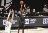 """40 taškų surinkęs K.Irvingas vedė """"Nets"""" į pergalę"""