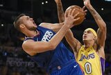 """Į """"Clippers"""" rikiuotę sugrįžta du svarbūs žaidėjai"""