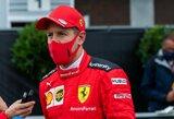 """Siaubingas """"Ferrari"""" pasirodymas nenustebino S.Vettelio, tas pats variklis """"skandina"""" dar dvi komandas"""