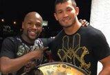 F.Mayweatheris įvardijo geriausią MMA kovotoją pasaulyje