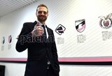 """Naujuoju """"Palermo"""" prezidentu tapęs buvęs TV laidų vedėjas pikantiškoje vietoje išsitatuiravo klubo emblemą"""
