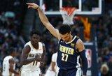 """Fantastiškai puolusi """"Nuggets"""" užfiksavo NBA taškų rekordą"""
