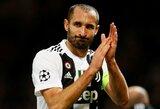 """""""Juventus"""" nuostolis: treniruotėje susižeidusiam G.Chiellini bus atliekama operacija"""