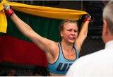 """UFC realybės šou pasirodžiusi J.Stoliarenko kovos """"Siemens"""" arenoje"""