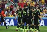 Ispanija dvikovoje dėl garbės nukovė australus